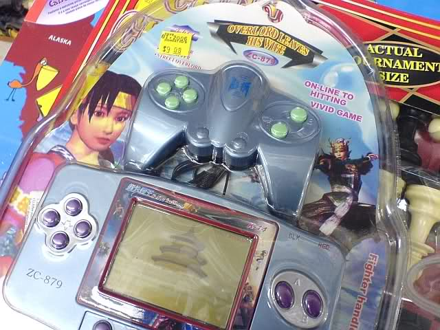 Counterfeit hand-held video game