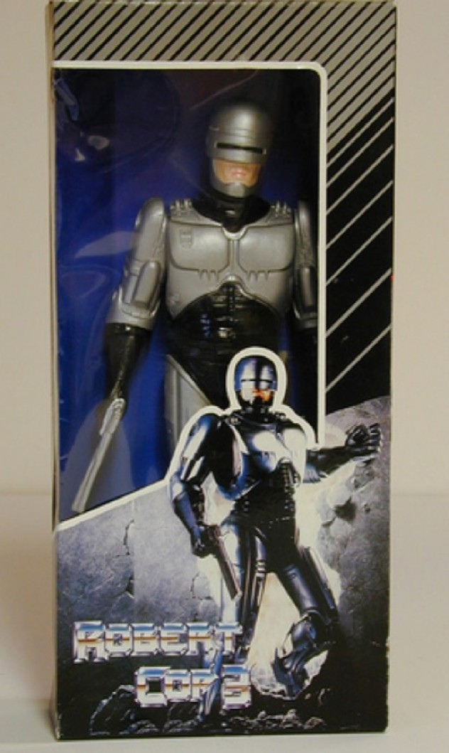 Fake RoboCop toy
