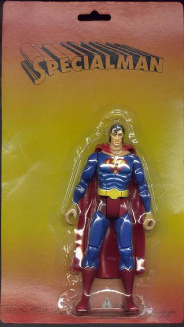 Bootleg Superman toy called Specialman