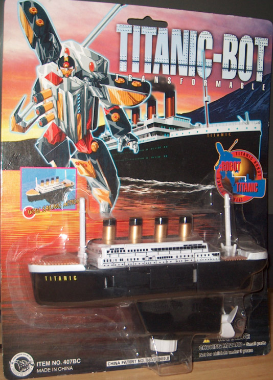 Titanic transformable robot toy