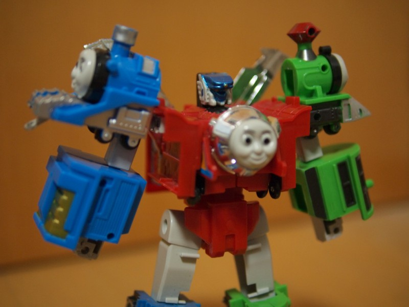 Thomas The Tank Engine as a Transformer