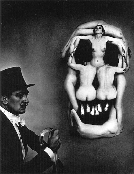 Naked women forming a skull - Salvador Dali