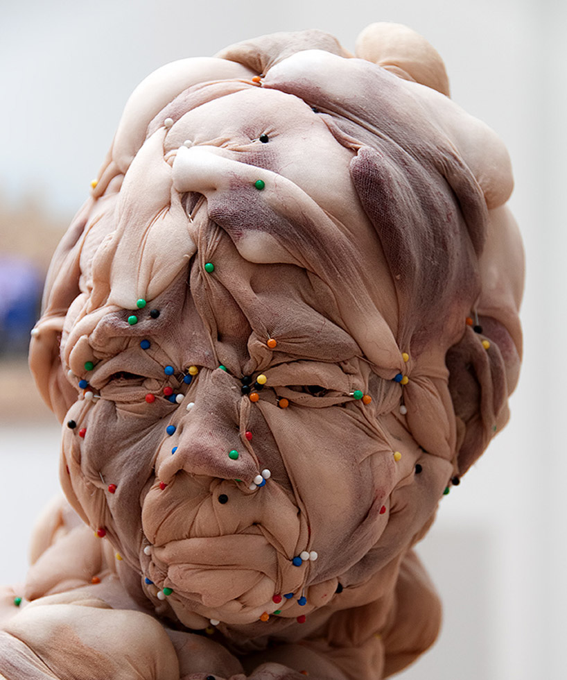 Head made of tights