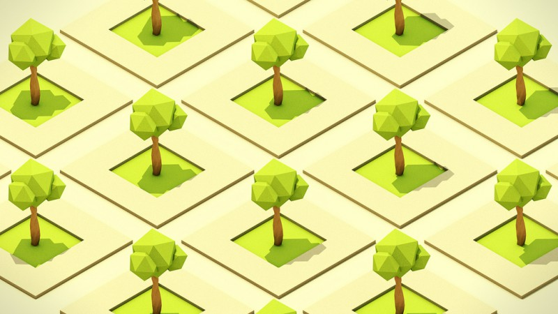 Repeated isometric trees