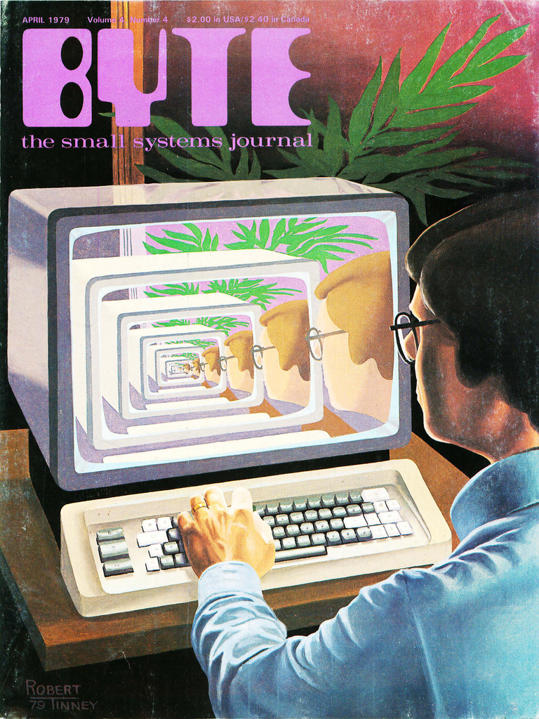 Byte Magazine cover from April 1979