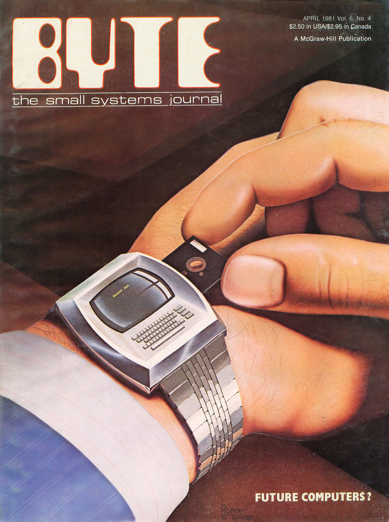 Byte Magazine cover from April 1981