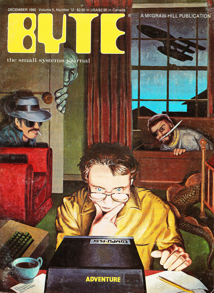 Byte Magazine cover from December 1980