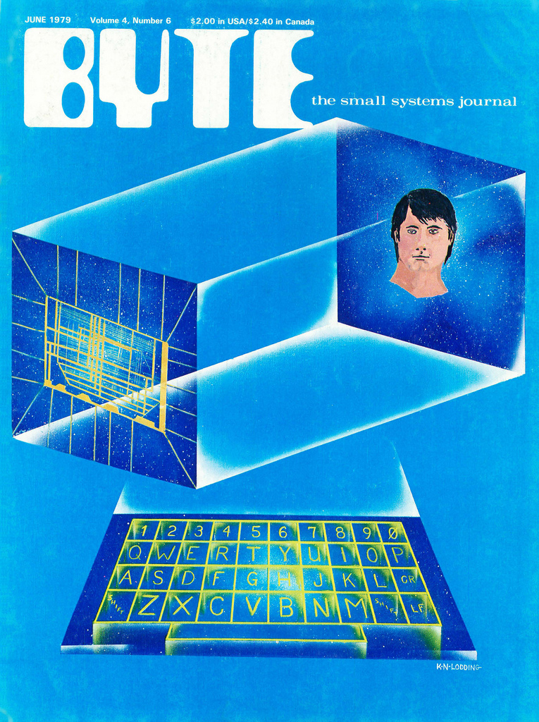 Byte Magazine cover from June 1979