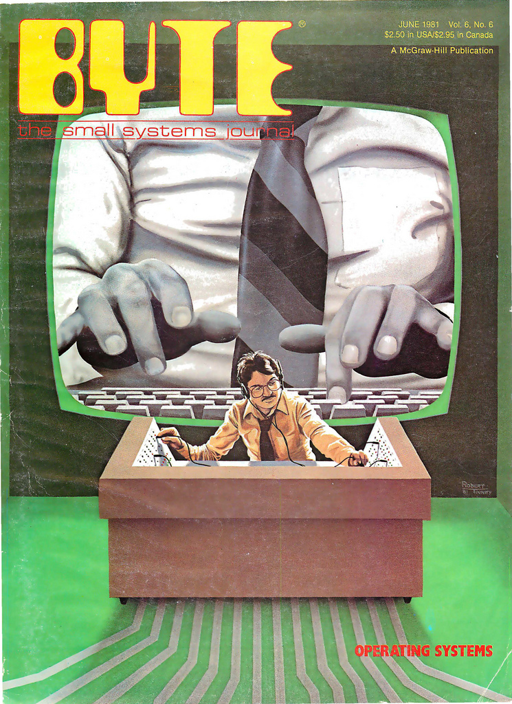 Byte Magazine cover from June 1981