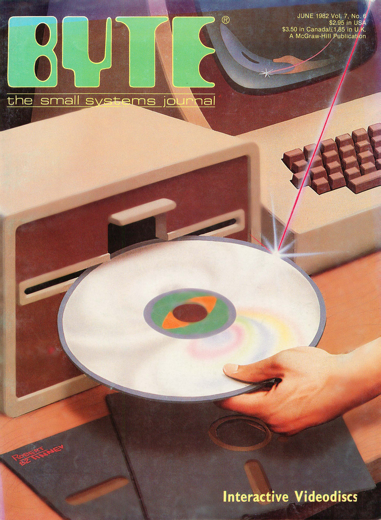 Byte Magazine cover from June 1982