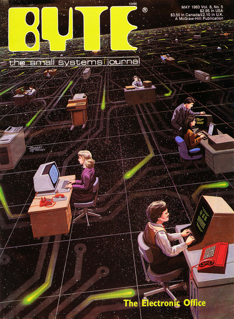 Byte Magazine cover from May 1983