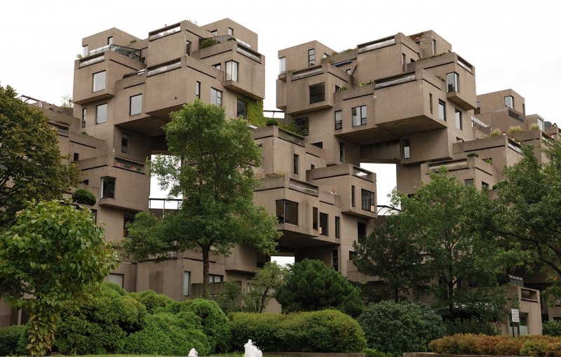 Habitat 67 from the street