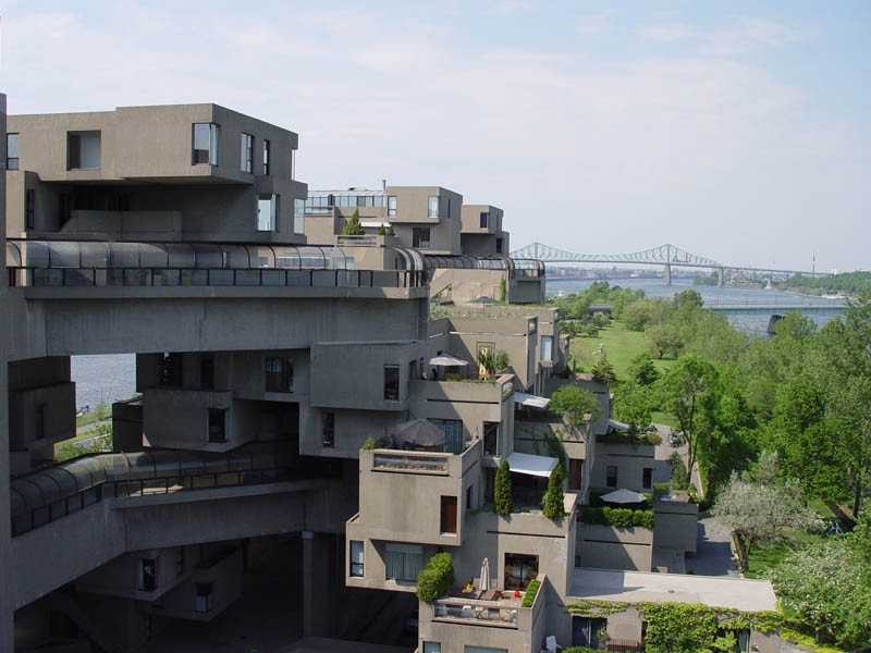 Habitat 67 metamythic for Construction habitat