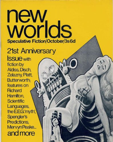 Front cover of New Worlds issue 176