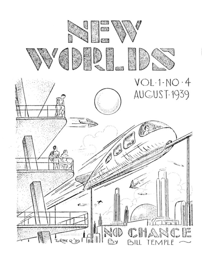 New Worlds issue 4