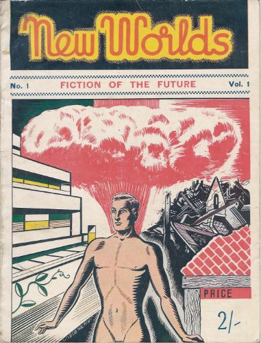 Front cover of New Worlds issue 1