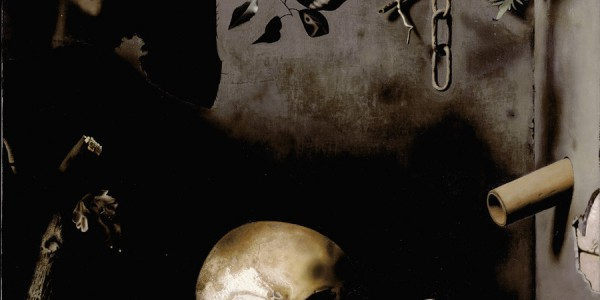 Painting of a skull by Raoul Hynckes
