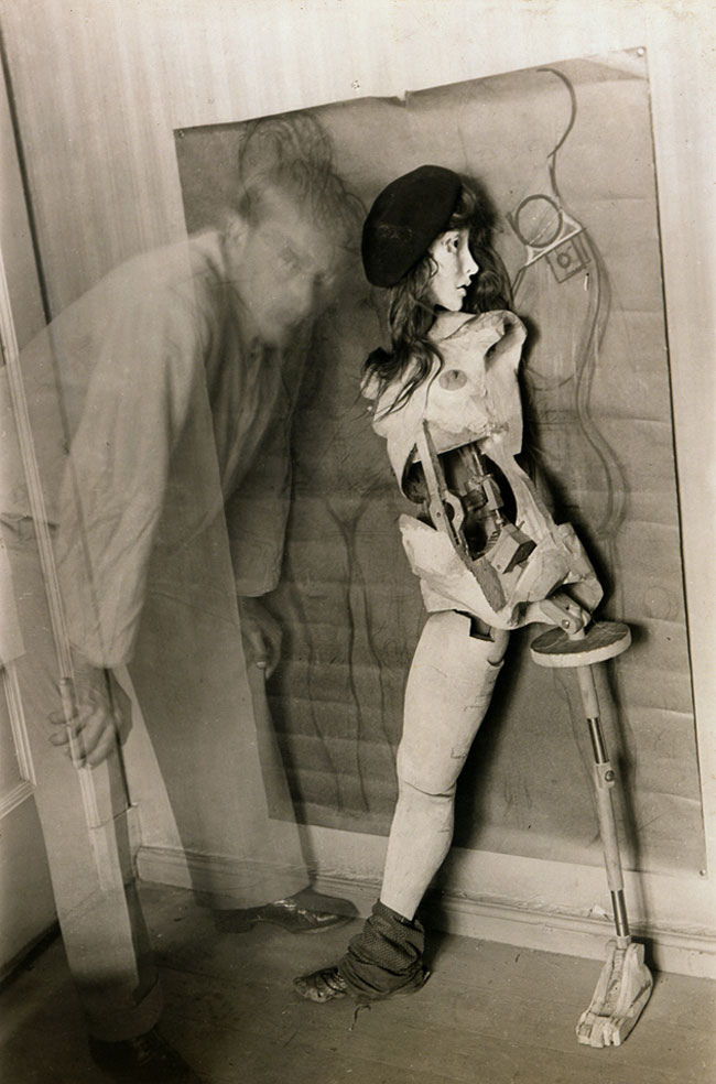 Hans Belmer - Self-Portrait with the Doll