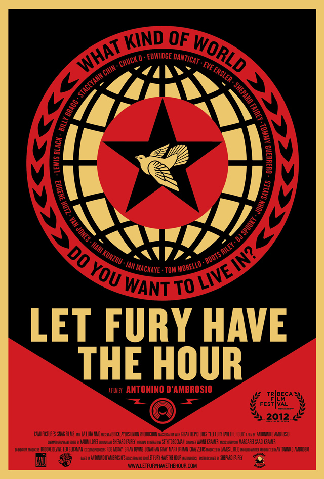 Poster for the film Let Fury Have The Hour