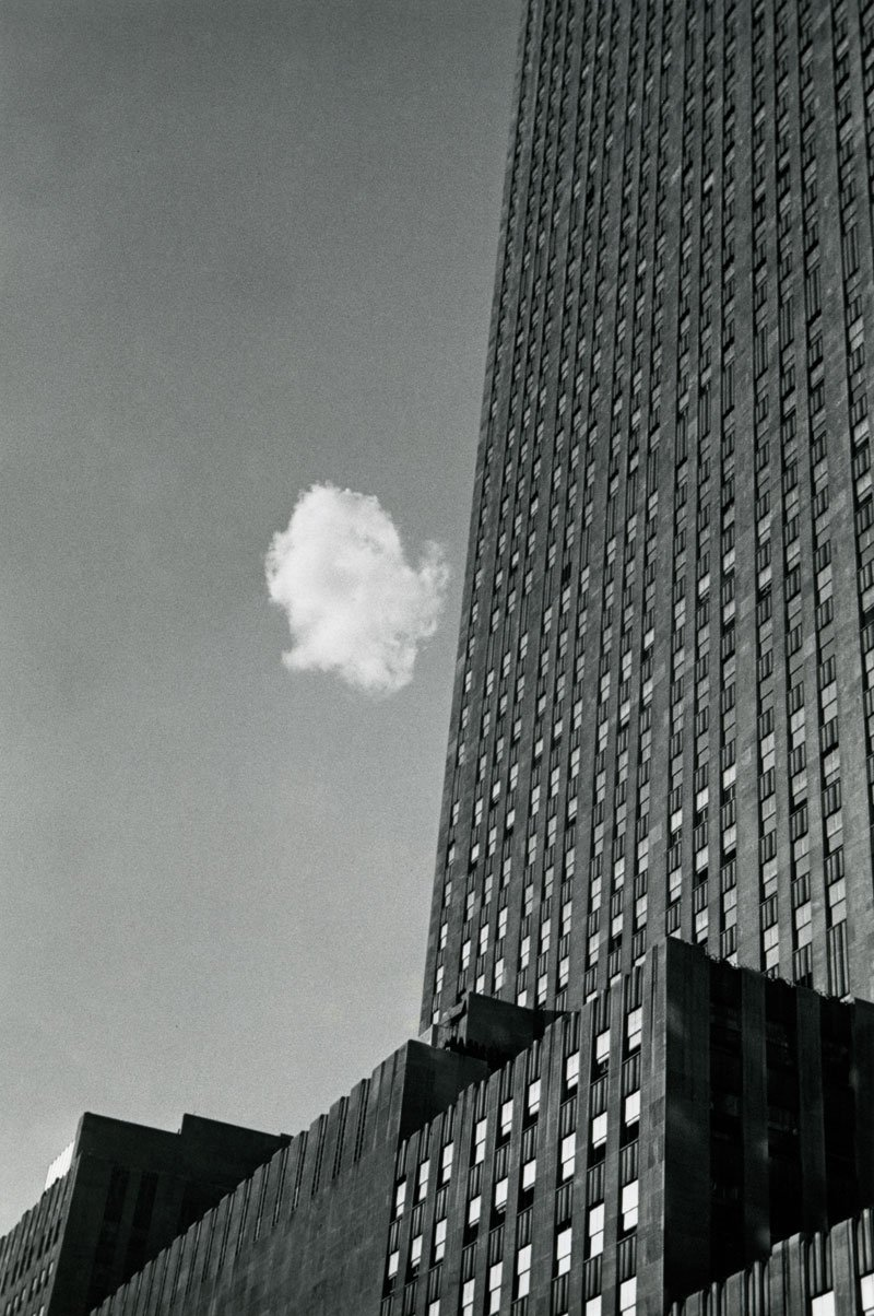 Black and white photo called Lost Cloud by Andre Kertesz
