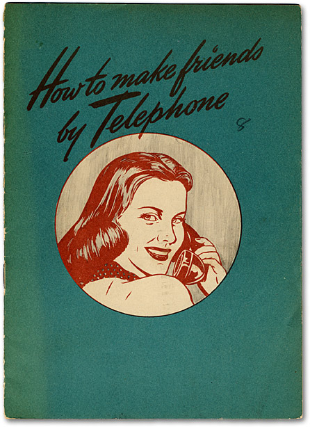 Front cover of Make Friends By Telephone