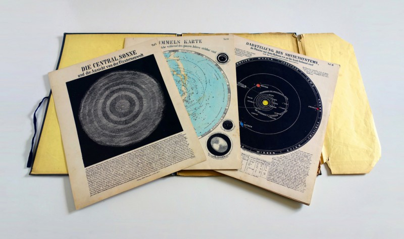 Pages from Astronomic Picture Atlas