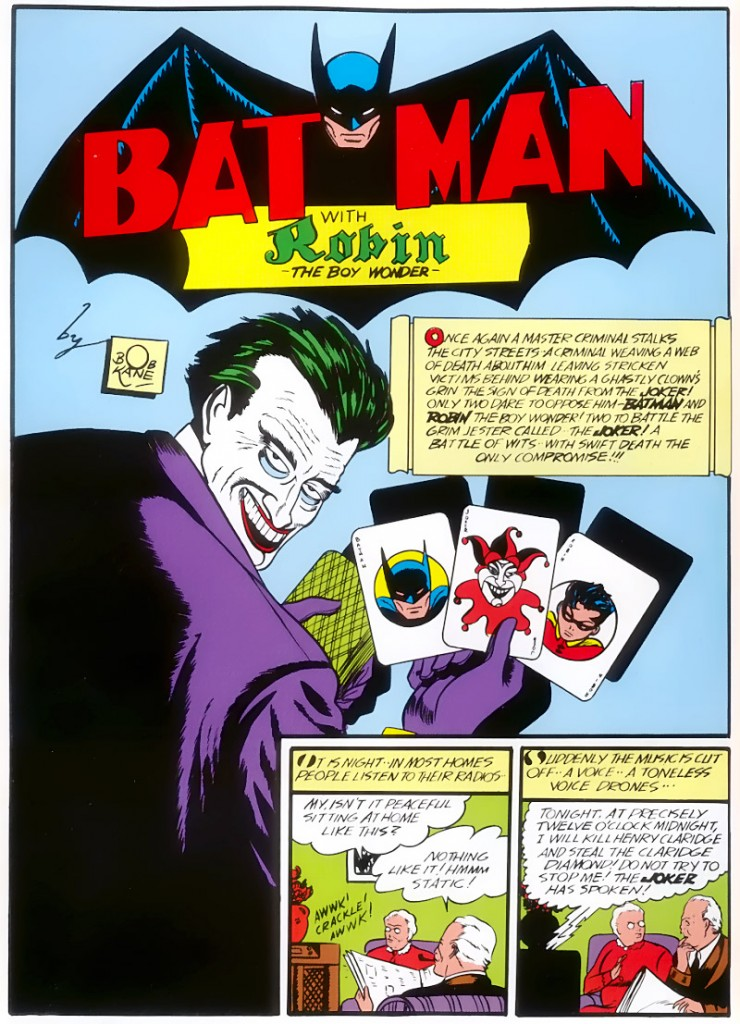 Early appearance of The Joker