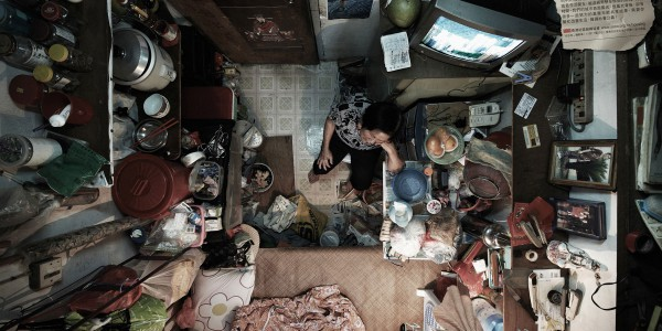 Cramped Hong Kong cubicle apartment