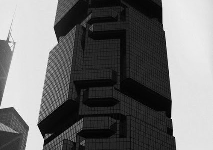 Big black building