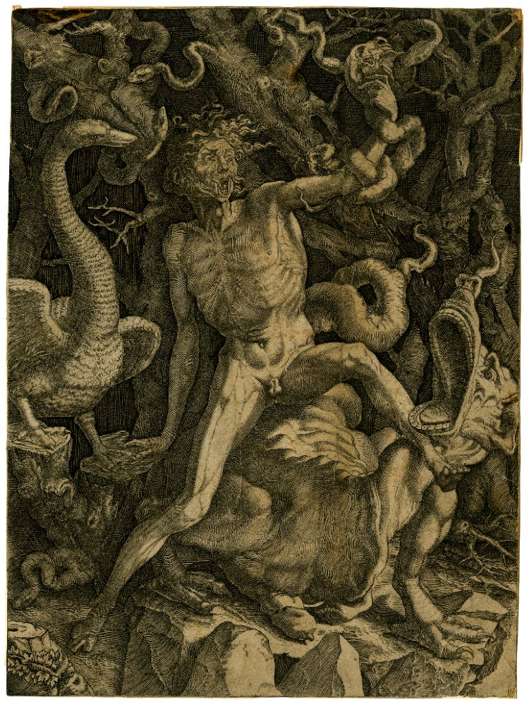 Flayed Personification of Fury
