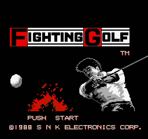 NES game Fighting Golf