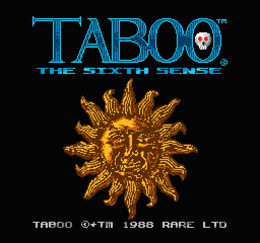NES game Taboo