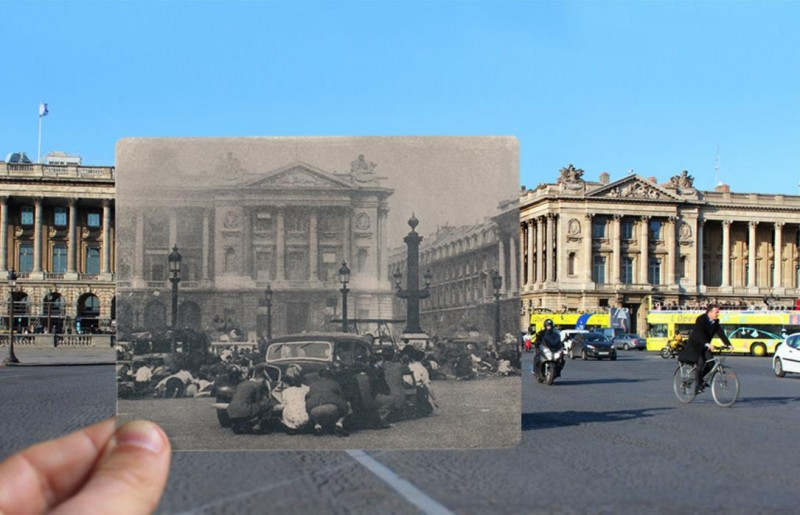 place de la concorde photo overlay