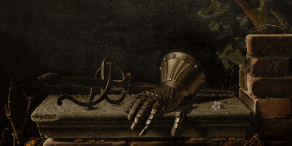 Painting called The Iron Hand by Raoul Hynckes