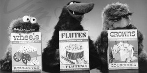 Three old muppets in a 1966 cereal TV advert
