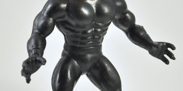 Weird toy called Super Head Muscle Fighter