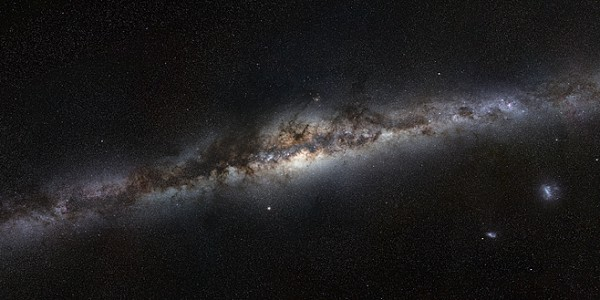360 degree panorama of the Milky Way